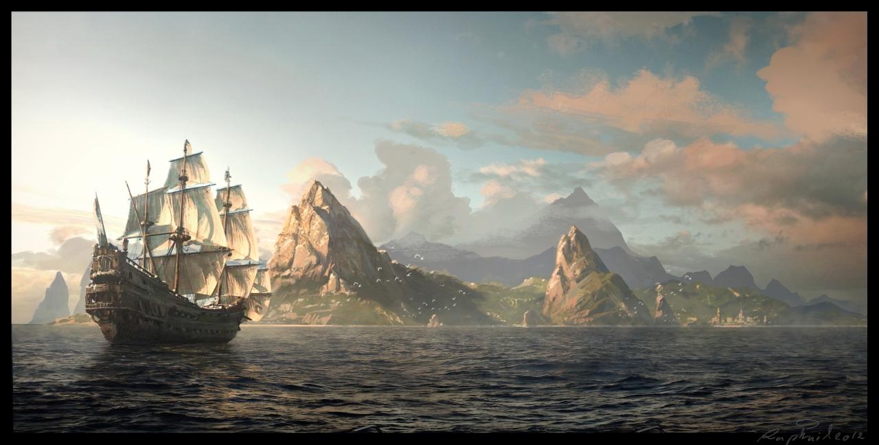 моды для assassins creed 4 black flag на корабли